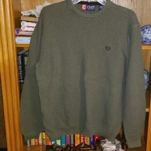 💥50% OFF SALE Chaps Olive Green Sweater